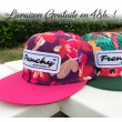 Cap Snapback Flower pink NAME
