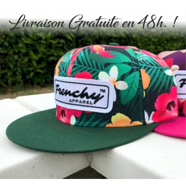 Cap Snapback Flower green NAME