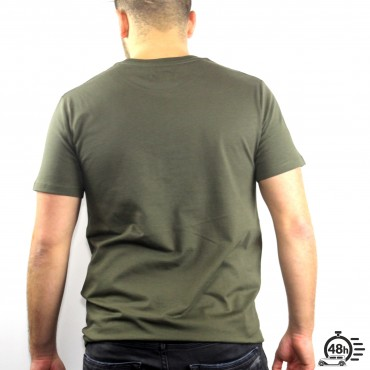Tshirt AUTHENTIC olive MC