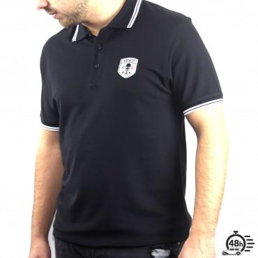 Polo CLASSIC SKULL noir