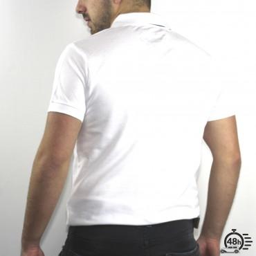 Polo CLASSIC SKULL blanc & noir