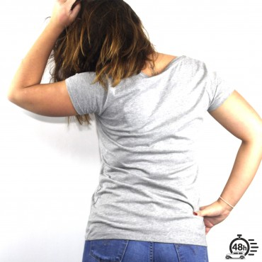 Tshirt AUTHENTIC light grey SS Womens