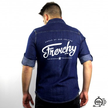 Shirt LETTERING denim