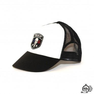 Cap Trucker KIDS CLASSIC SKULL black & white