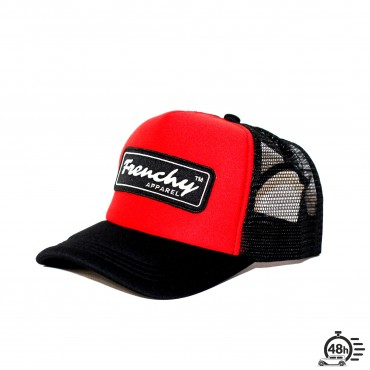 Casquette Trucker NAME red & black
