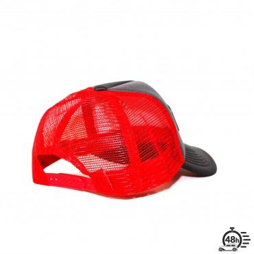 Casquette Trucker STAR red & grey