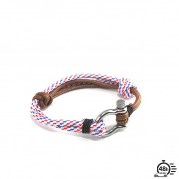 Bracelet Hook adjustable tricolor white