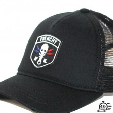 Cap Trucker used CLASSIC SKULL black