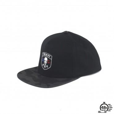 Casquette Snapback CLASSIC SKULL camo black
