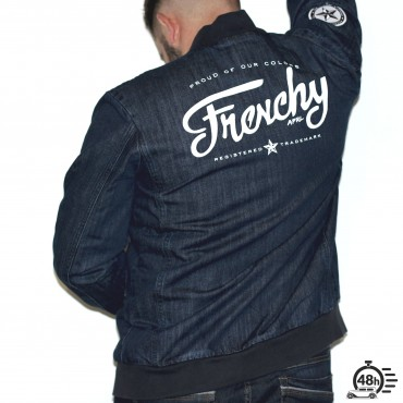 Jacket LETTERING denim MIXED