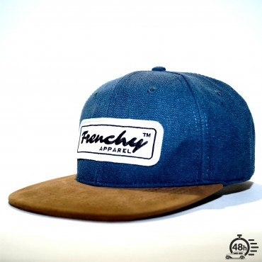 Cap snapback denim NAME blue