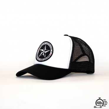 Casquette Trucker STAR black & white