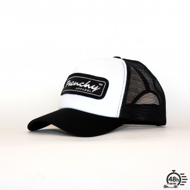 Casquette Trucker NAME black & white