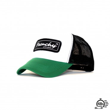 Casquette Trucker NAME tricolor green