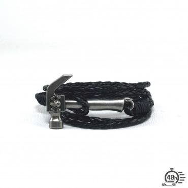 Bracelet Tool & Skull black