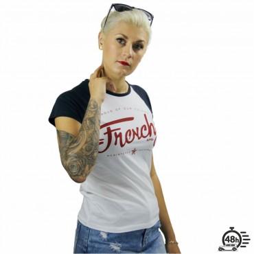 Tshirt LETTERING baseball SS Women