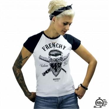 Tshirt RESPECT SKULL baseball SS limited serie women