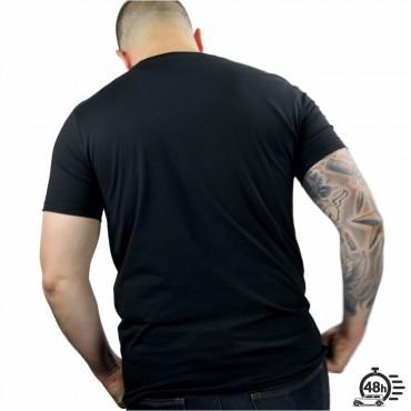 Tshirt RESPECT SKULL noir MC Série limitée