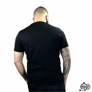 Tshirt ROSE SKULL black SS