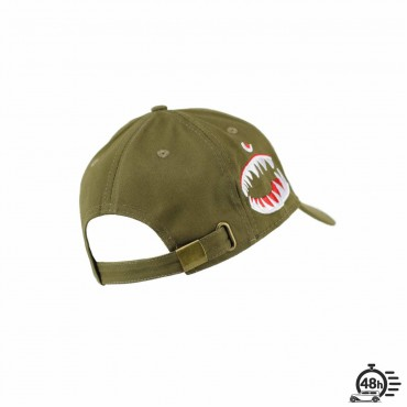 "Cap ""SHARK"" ultra limited serie olive"