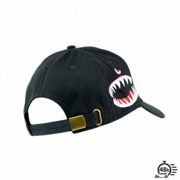 "Cap ""SHARK"" ultra limited serie black"