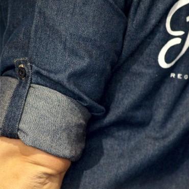 Shirt LETTERING denim