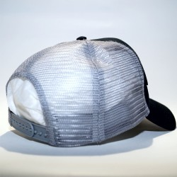 Cap Trucker NAME black and grey