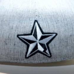 Cap vintage STAR grey
