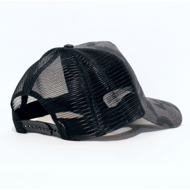Cap Trucker STAR camo black